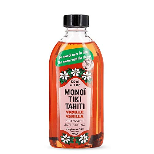 Monoi Tiki Tahiti Vanille Bronzant Sun Tan Für Körper 120ml