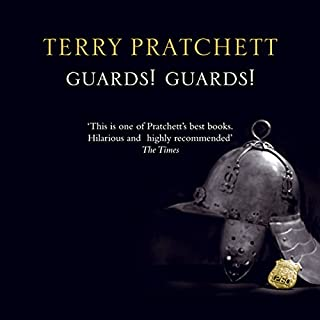Guards! Guards!                   By:                                                                                                                                 Terry Pratchett                               Narrated by:                                                                                                                                 Nigel Planer                      Length: 10 hrs and 7 mins     5,228 ratings     Overall 4.7