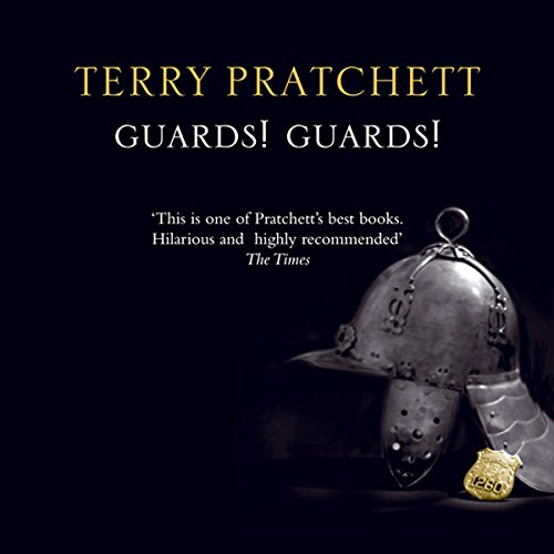 Guards! Guards! audiobook cover art