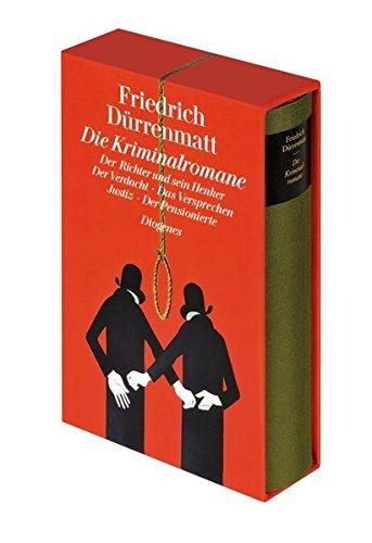 Die Kriminalromane: Der Richter und sein Henker, Der Verdacht, Das Versprechen, Justiz, Der Pensionierte