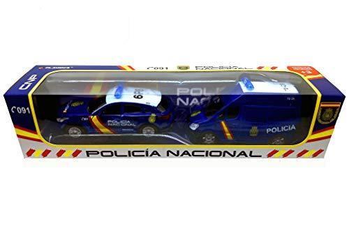 PLAYJOCS GT-3554 Conjunto POLICÍA Nacional
