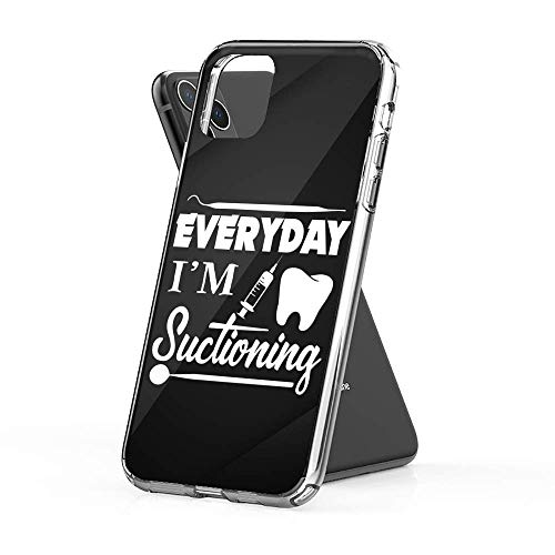 Sexdety Phone Case Funda Compatible coniPhone 6 Plus /6s Plus Case Phone Everyday Suctioning Dentist Dental Assistan