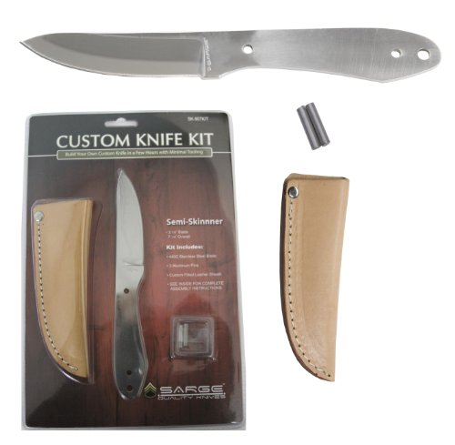 Sarge Knives SK-907KIT Skinner Kit with 3-1/8-Inch Stainless Blade