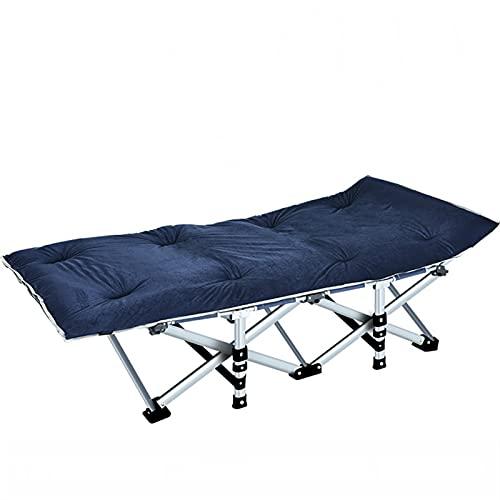 PPCERY Cama Plegable al Aire Libre Cama Reforzada Simple Oficina Acompañante Casa Plegable Break Individual Bed Mobiliario Exterior (Color : D2)