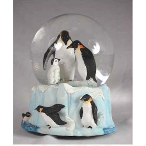Penguin Family Musical Snow Globe - It s a Small World 99c530e62