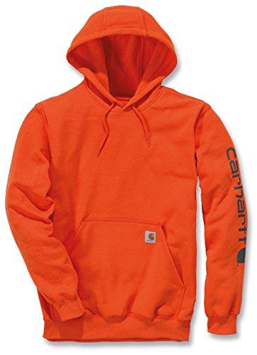 Carhartt Herren Kapuzenpullover, Orange (Orange), X-Small