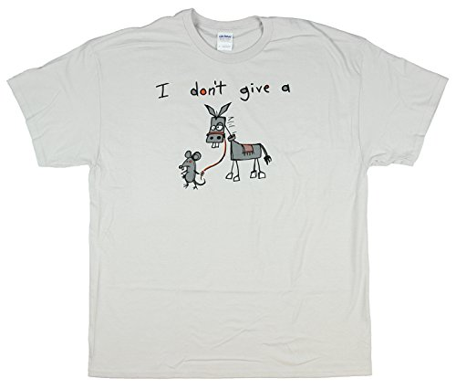 Humor I Don't Give A Rat's Graphic T-Shirt
