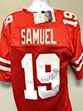 Deebo Samuel San Fransico 49ers Signed Autograph Custom Jersey Red JSA Witnessed Certified