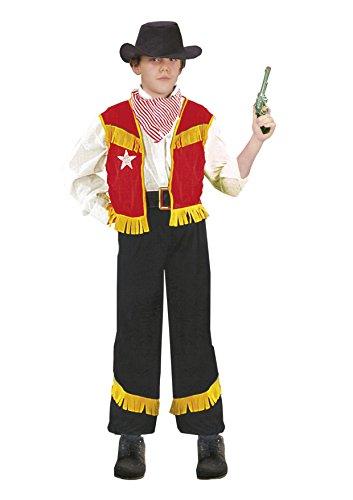Fiori Paolo-Cowboy Costume Bambino, Multicolore, L (7-9 anni), 61023.L