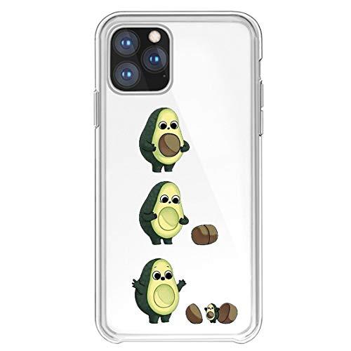 Lajeri Kompatibel Mit Apple iPhone 11 Hülle,Soft Silikon Handyhülle Süßes Tier Motiv Transparent Hülle Ultra Dünn TPU Schutzhülle Bumper Stoßfest Cover für iPhone 11 2019 Handy