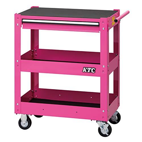 京都機械工具(KTC) ツールワゴン 3段1引出し ピンク SKX2613P (2020-21 SK品)