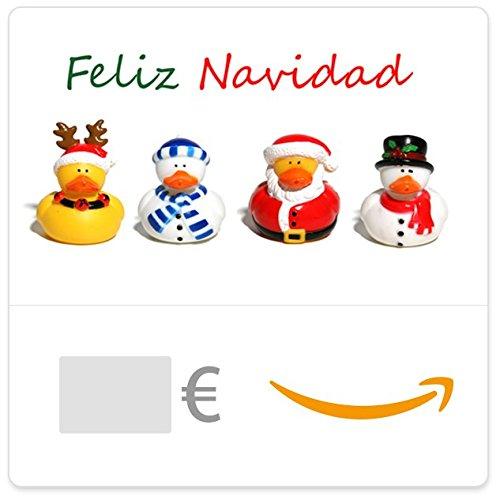 Cheque Regalo de Amazon.es - E-Cheque Regalo - Patitos navideños