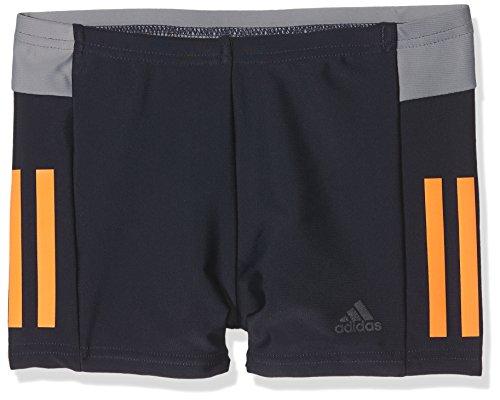 adidas Jungen Fit III Colorblock Boxer, Legend Ink/Hi-Res Orange/Carbon/Grey, 164