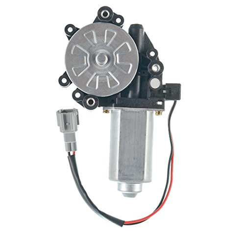A-Premium Power Window Lift Motor (2 Pins Connector) Replacement for Nissan Armada Maxima Titan Pathfinder 2004-2011 Rear Left Driver Side