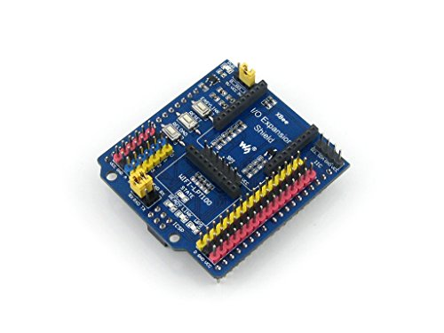 Wavesahare IO Expansion Shield Xbee Sensor Expansion Shield Module For Arduino Connecting Sensors Directly IIC SPI 3-pin 4-pin Sensor Interface