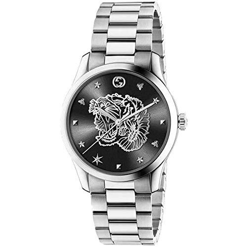 Gucci para Hombre Reloj g timless de Acero Tigre en la Esfera YA1264125