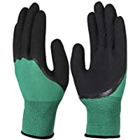 CZ-Tphspe Cut Resistant Nitrile Latex Fiber Palm Kevlar Coated Knit Glove