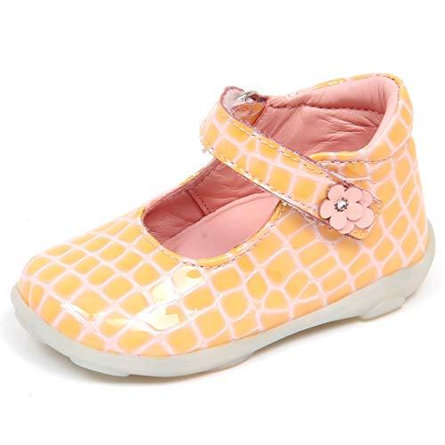 Falcotto F7250 Ballerina Bimba Girl Naturino Pink/Peach Patent Cocco Shoe [20]