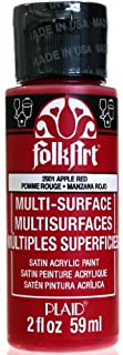 FolkArt Multi-Surface Paint in Assorted Colors (2 oz), 2901, Apple Red (B00CIW3J2O) | Amazon price tracker / tracking, Amazon price history charts, Amazon price watches, Amazon price drop alerts