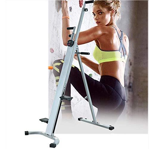 CHIYA Resistente Stepper y Climber,Scalatore Verticale Regolabile e Pieghevole,Movimenti per Arrampicata,Climber per Palestra,Esercizi Cardio,per Scale