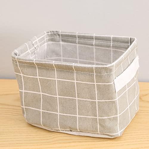 Ins serie canasta de almacenamiento pastoral estilo de frutas y hortalizas cesta restos dormitorio impermeable canasta de almacenamiento plegable de almacenamiento caja de la ropa interior