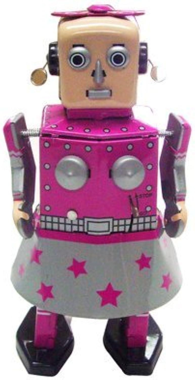 gran descuento Venus Robot Robot Robot Girl, Metal Robot Winds Up, Tin Juguete Collection, 5.5 by Classic Tin Juguete  apresurado a ver