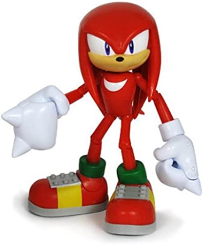 Sonic The Hedgehog 3-inch Articulated Figure Knuckles by Sonic The Hedgehog