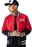 New Era Chicago Bulls Modelo NBA Bomber CHIBUL FDR, Red, XS