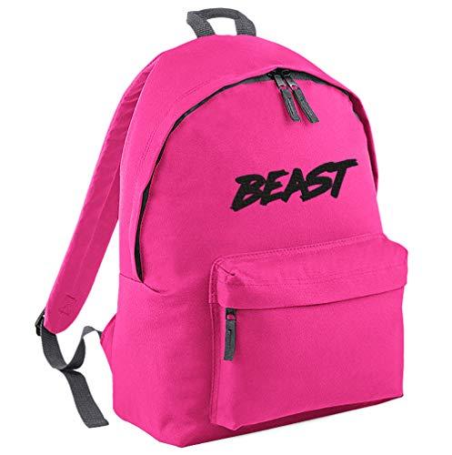 TeeIsland Junior MR Beast Backpack (Fuchsia/Black)