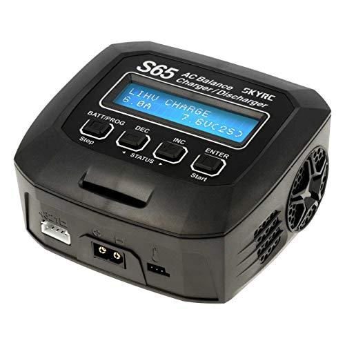 SKYRC S65 Modellbau-Multifunktionsladegerät 6 A LiPo, LiFePO, LiIon, LiHV, NiMH, NiCd, Blei