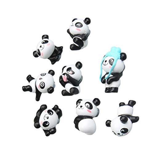 DOITOOL- 16PCS Decorative Panda Refrigerator, Stickers Cartoon 3D Animal Fridge Magnets for Home School