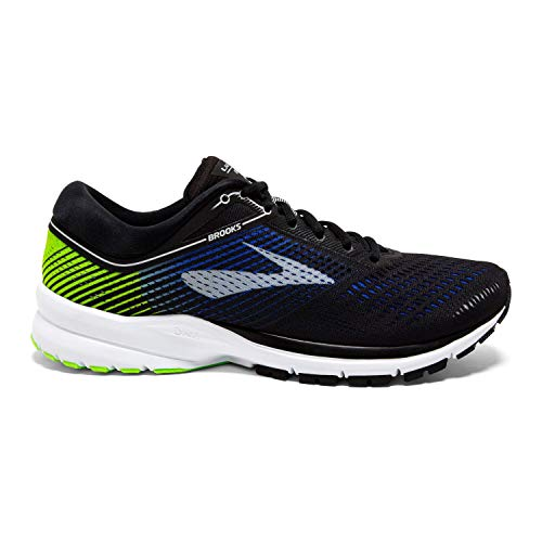 Brooks Mens Launch 5 - Black/Blue/Green - D - 11.0