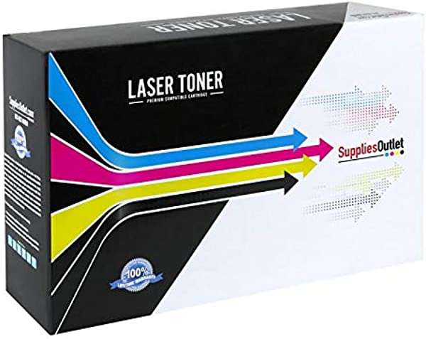 SuppliesOutlet Compatible Toner Cartridge Replacement For HP 124A C M Y K 4 Pack