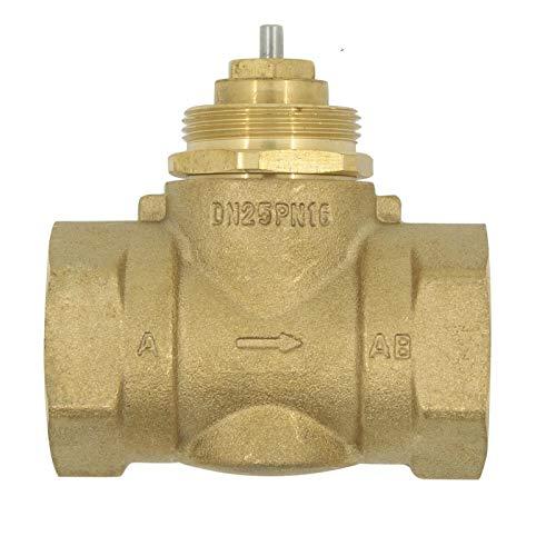 XIAOLUTIANM Válvula Válvula de Tres vías de latón Válvula de Dos vías DN15 DN20 DN25 M30x1.5 M28x1.5 Conectores Accesorios (Specification : M28X1.5, Voltage : 2 Way)
