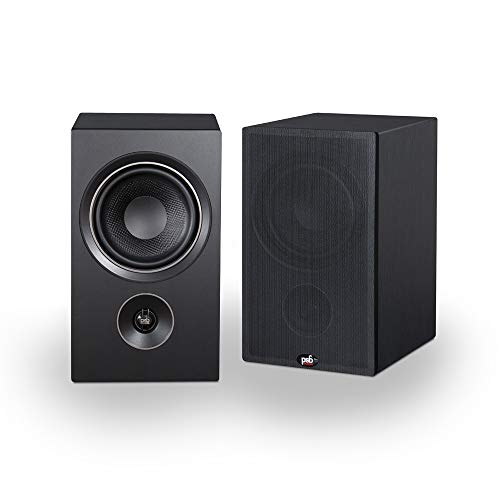 PSB Alpha P5 Bookshelf Speaker - Black Ash