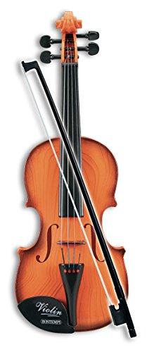 Bontempi Icom- Violino Classico con Suono Realistico, Multicolore, Bontempi291100