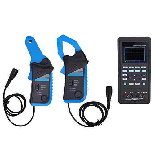 Multímetro de osciloscopio, kit de osciloscopio profesional, osciloscopio automotriz portátil, para laboratorio de investigación Señales de sensor(European regulations)