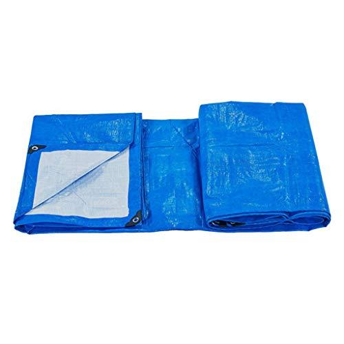 Plane Abdeckplane Wasserdicht Gewebeplane Verdicken Wasserdichten Plastikregen Schatten Stoff Sonnenschutz Dreirad Abdeckungs LKW 2M * 3M (Size : 4M*7M)