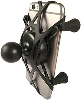 Texel WebGrip with RAM Mount X-Grip Phone Cradle B-Ball 1 inch (Black) TXL-RAM-HOL-UN7B