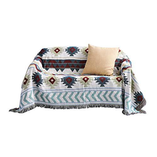 Sofaüberwurf Sofa Überwürfe Anti-Rutsch Sofabezug Sofahusse Sofa Abdeckung In Verschiedene Größe Und Farbe Stil 4 90 * 180cm
