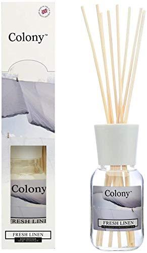 Wax Lyrical Colony Reed Diffuser, frisches Leinen, 120ml