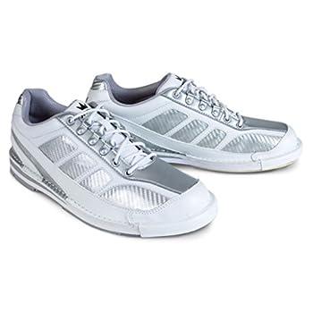 Brunswick Men s Phantom Bowling Shoes White/Silver Size 9.5