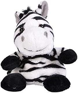 Rhode Island Novelty 5 Inch Weez Zebra Plush