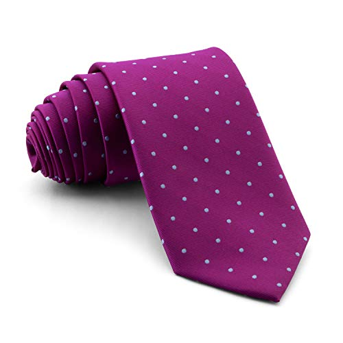 Cencibel Smart Casual Corbata Lunares o Topos (Fondo Buganvilla Lunares Celestes)