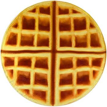 Casofu Waffles Giant Flour Waffles Throw Blanket