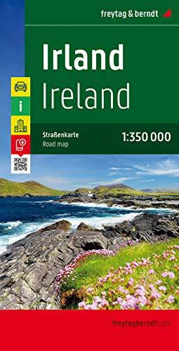 Irlanda, mapa de carreteras. Escala 1:350.000. Freytag & Berndt.: Wegenkaart 1:350 000: AK 6701 (Auto karte)