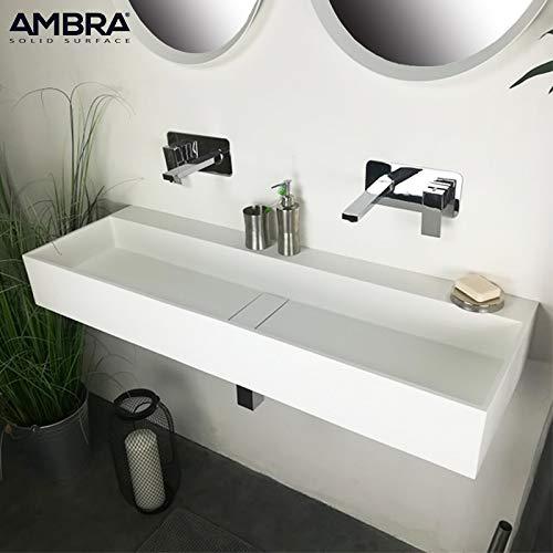 AMBRA Armario 120 cm de Techo o de Mesa, en Solid Surface ...