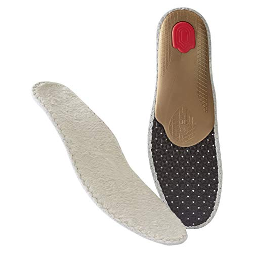 BERGAL Thermo Tec wärmendes Winter Fußbett mit unterstützendem Orthotic System Größe 46
