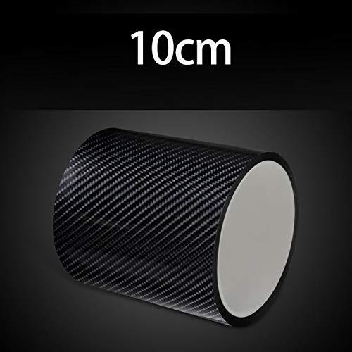 10/7/5 / 3cm 3D Nano Carbon Faser Autoaufkleber DIY Schutzstreifen Auto Türschweller Seite Anti Scratch Tape wasserdichte Schutzfolie - 10CM, 3M
