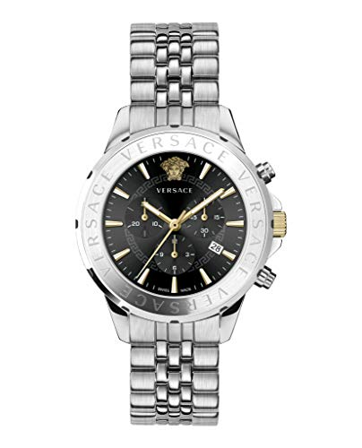 Versace VEV600419 Signature Chronograph 44mm 5ATM